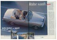 AUTO MOTOR und SPORT vom 21. April 1995 - UrsusMajor