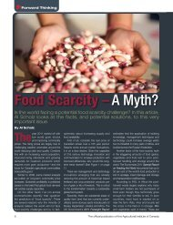 Food Scarcity –A Myth? - International Federation of Agricultural ...