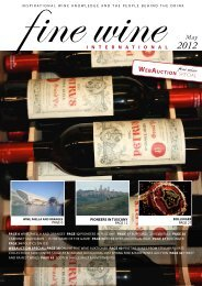 WEBAUCTION special - Fine wine magazine