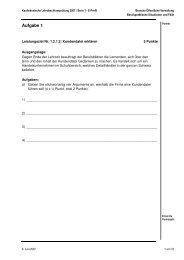 LAP Serie 1/2007 E-Profil - Branche öffentliche Verwaltung