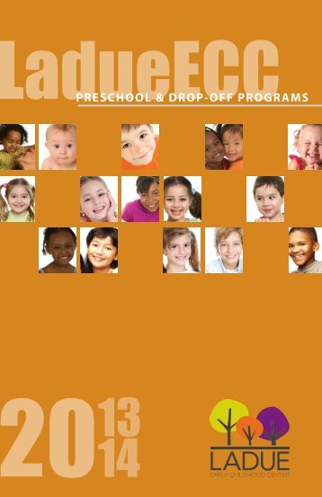 Preschool & Dropoff Programs.pdf - Ladue School District