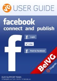 Facebook Connect and Publish User Guide - BelVG Magento ...