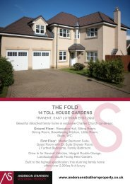 THE FOLD - Anderson Strathern.....