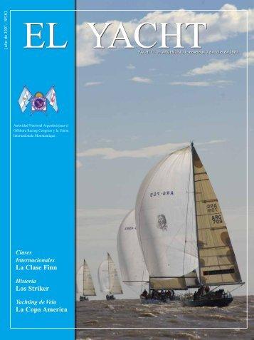 Clase Internacional 5 metros de Rating - Yacht Club Argentino