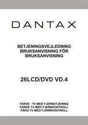 26LCD/DVD VD.4 - Dantax