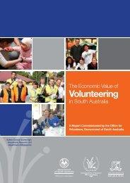 Volunteering in South Australia - Office for Volunteers - SA.Gov.au