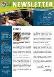 Newsletter - EWF