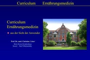 Curriculum Ernährungsmedizin - DGEM