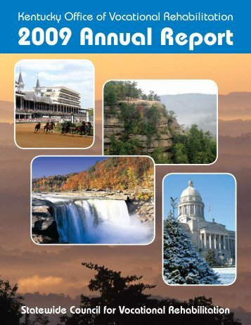 2009 Annual Report - Kentucky: Office of Vocational Rehabilitation