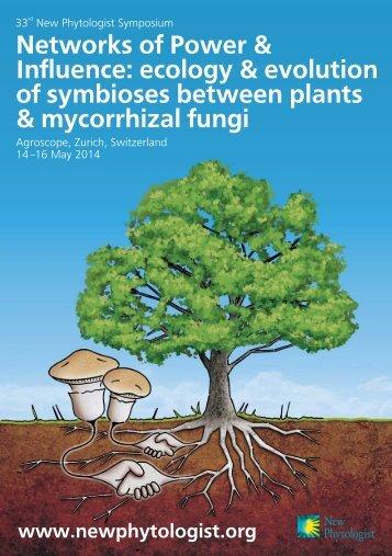 33rd NPS Flyer (pdf) - New Phytologist Trust