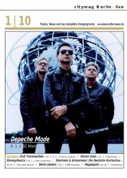 Depeche Mode - Kulturnews