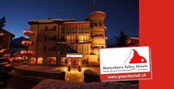 Hotelprospekt - Matterhorn Valley Hotels