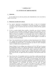 CAPITULO VII EL CONTRATO DE ARRENDAMIENTO 1. Definición ...