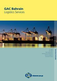 GAC Bahrain Logistics Services