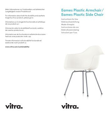 Eames Plastic Armchair/ Eames Plastic Side Chair - Vitra