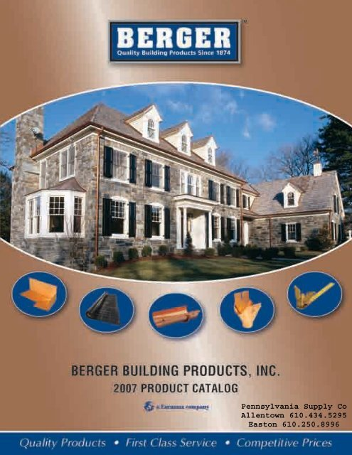 Berger Bros Gutters Snow Guards Pa Supply Company