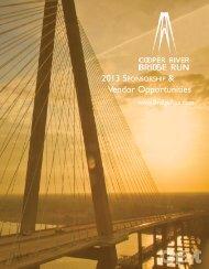 Vendor Opportunities - Cooper River Bridge Run