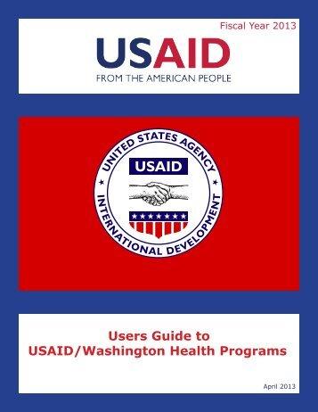 Users Guide to USAID/Washington Health Programs