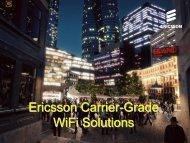 Ericsson BelAir Network Carrier-Grade WiFi Solutions - e-NETSource
