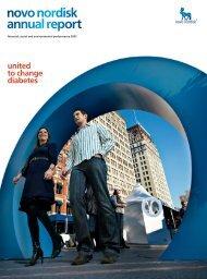 Annual Report 2007 - Novo Nordisk