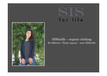SISforlife - Katalog