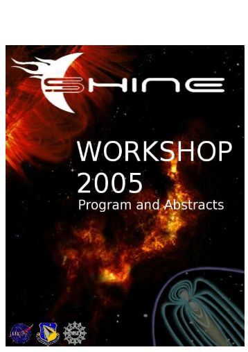SHINE 2005 Workshop Registrants