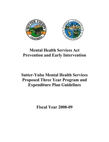 Sutter - Yuba County - Mental Health Services Oversight and ...