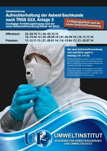 Offenbach: 23.-24.10.13 - Umweltinstitut Offenbach