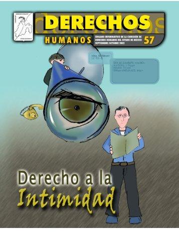 Derecho a la intimidad - codhem