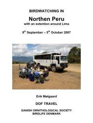 Northen Peru - Scanbird