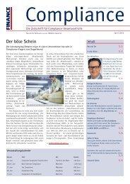 (PDF ) | Ausgabe Juni 2013 - Compliance