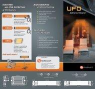 UFO-R UFO-I UFO-E Infrared Heater - Ouellet Canada