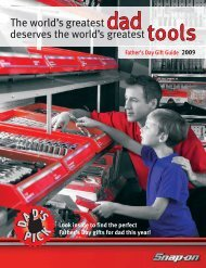 Father's Day Gift Guide - Snap-on