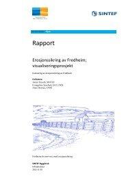 Erosjonssikring av Fredheim - Sysselmannen