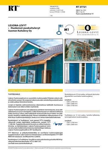 RT 37721, Leijona-levyt, huokoiset puukuitulevyt ... - Taloon.com