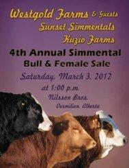 Westgold Farms - Bouchard Livestock International