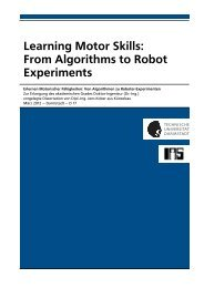 Learning Motor Skills: From Algorithms to Robot Experiments