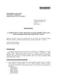 Protokol o výsledku kontroly výkonu státní správy na úseku ...