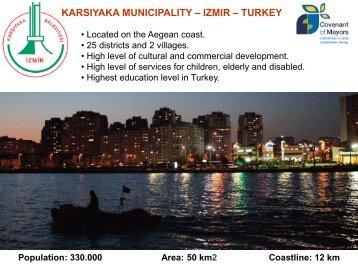 Presentation   KARSIYAKA MUNICIPALITY   Cevat Durak - Interact