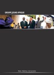 GROUPE JEUNE AFRIQUE - Jeuneafrique.com