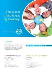 Angebote für Schülerinnen und Schüler - zdi