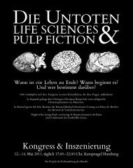 Die Untoten - Berlin-Brandenburgische Akademie der Wissenschaften