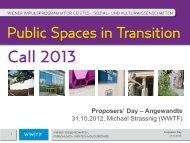 Proposers' Day – Angewandte 31.10.2012, Michael ... - Wwtf.at