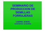 seminario de produccion de semillas forrajeras - Departamento de ...