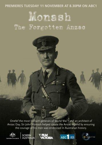 Monash - The Forgotten Anzac Press Kit