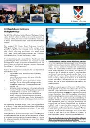 Academic Newsletter Term 2, July 2013