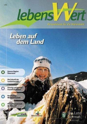 Leben auf dem Land - Landentwicklung - Steiermark