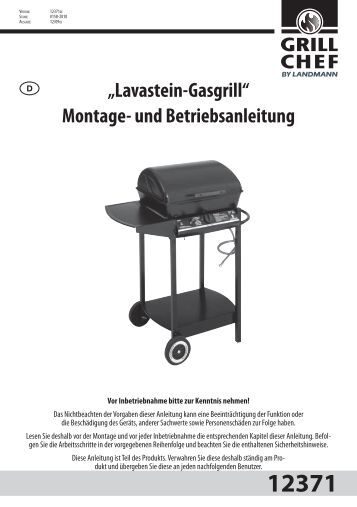 Kompakter gasgrill mit viel kraft landmann for Gasgriller landmann