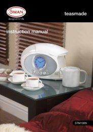 teasmade instruction manual - Create