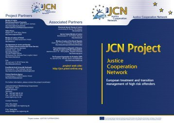 JCN Project - CEP, the European Organisation for Probation